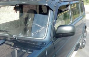 Зеркала ВАЗ 21214 нового образца, электропривод, обогрев с набором для подключения
