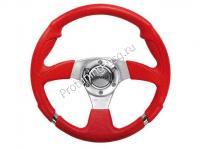 Руль Isotta R-EVO красный (125 2 PRF)