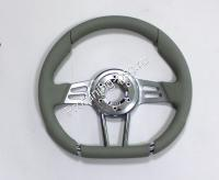Руль Isotta VALLEUNGA серый кожаный (126 4 IG)