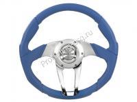 Руль Isotta ZULAG синий кожаный (134 4 B)