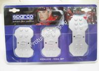 Накладки на педали Sparco IRON алюмин для МКПП  037878IAL