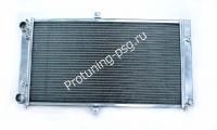 Радиатор охлаждения алюминиевый ВАЗ 2112 60мм 3 слоя для турбодвигателей
