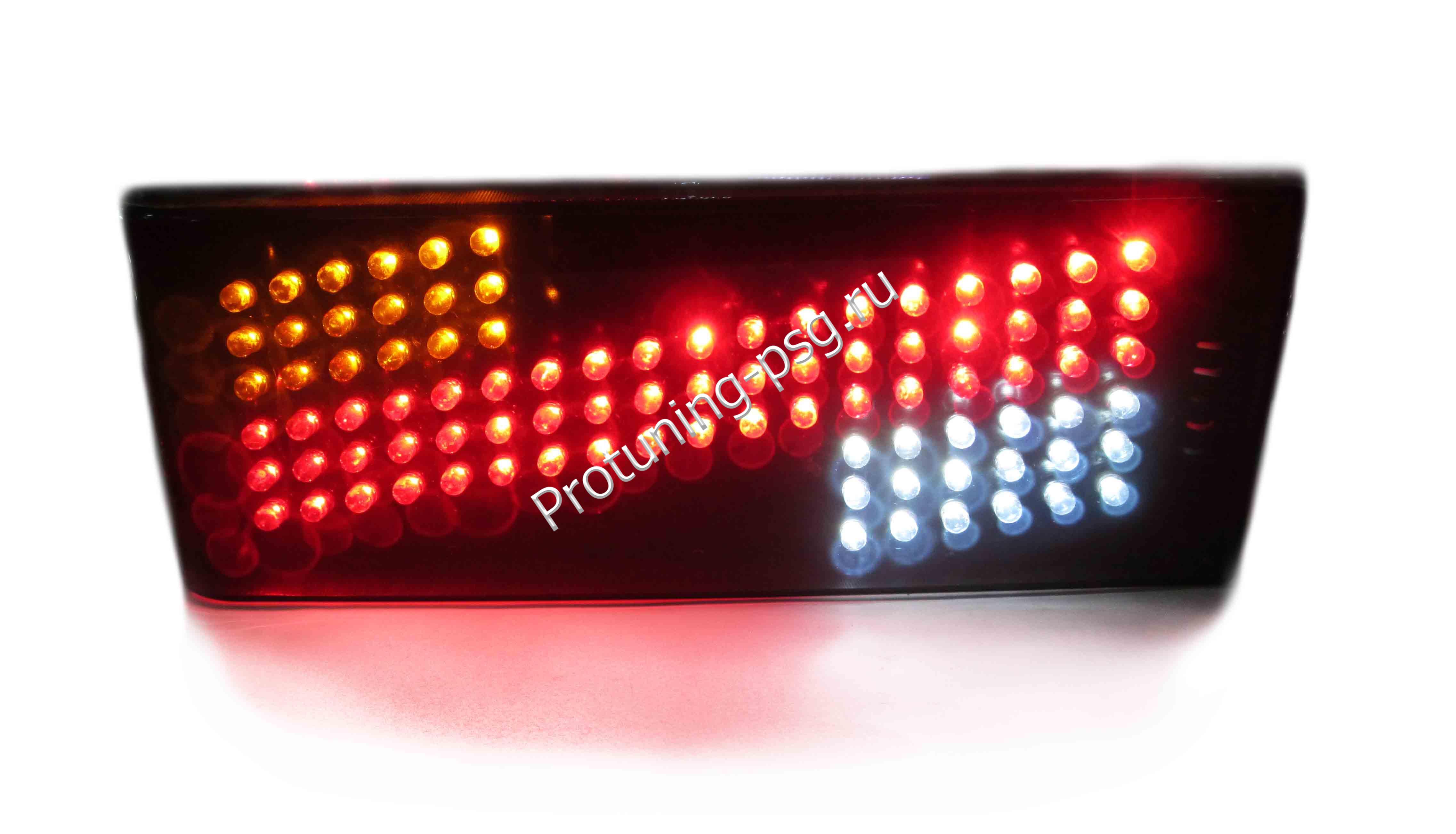 Фонари  задние 2108 - 21099, 2113, 2114 диодные YAB-LD-0013L