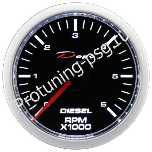 Тахометр Depo (RPM) дизельный 52mm  CSM-W5295 B