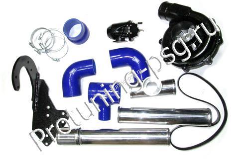 Компрессор для увеличения мощности для ВАЗ 2108-21099, 2113-2115 (инжектор) 8V ПК 23-1 (0,5 бар) PREMIUM