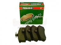 Колодки тормозные передние ВАЗ 2108 - 2115, Калина, Приора Ferodo Target