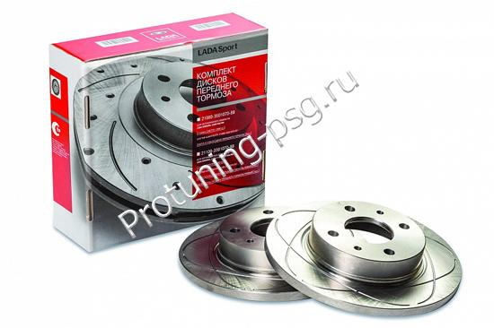 Диски тормозные Lada Sport ВАЗ-2108-99,2113-15 R-13