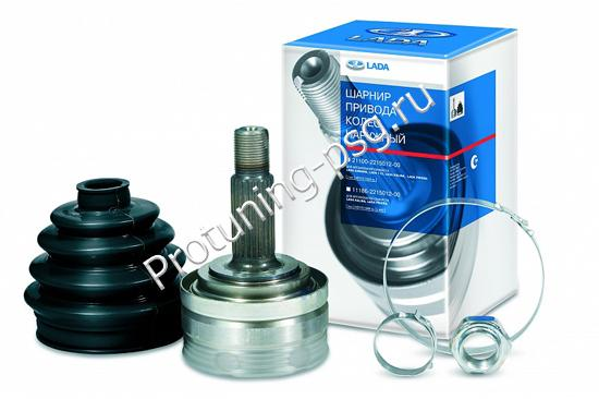 Шарнир (шрус) ВАЗ 2108-10 наружный передний, пыльник, хомут в упаковке