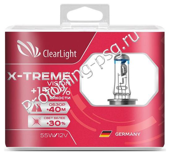 Лампа галогенная H11 X-treme Vision +150%