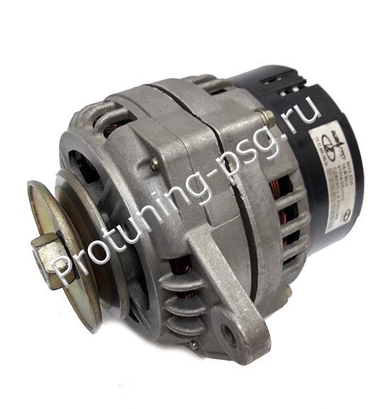 Генератор ВАЗ-2104-21073,21214 инжектор 14В 80А) (КЗАТЭ)