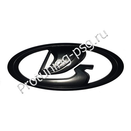 Эмблема решетки радиатора Lada черная