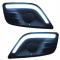 Дневные ходовые огни ДХО «ТЮН-АВТО» матовые LADA Largus (комплект правый + левый)