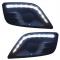 Дневные ходовые огни ДХО «ТЮН-АВТО» прозрачные LADA Largus (комплект правый + левый)