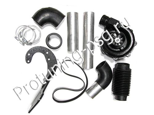 Компрессор для ВАЗ 2108, 2109, 2110, 2112, Приора, Калина, Гранта с 8 клапанным двигателем ПК 23-е для увеличения мощности 8V (0